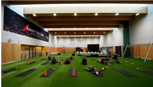 Sadio Mané en visite au nouveau centre de formation de Liverpool (Photos)