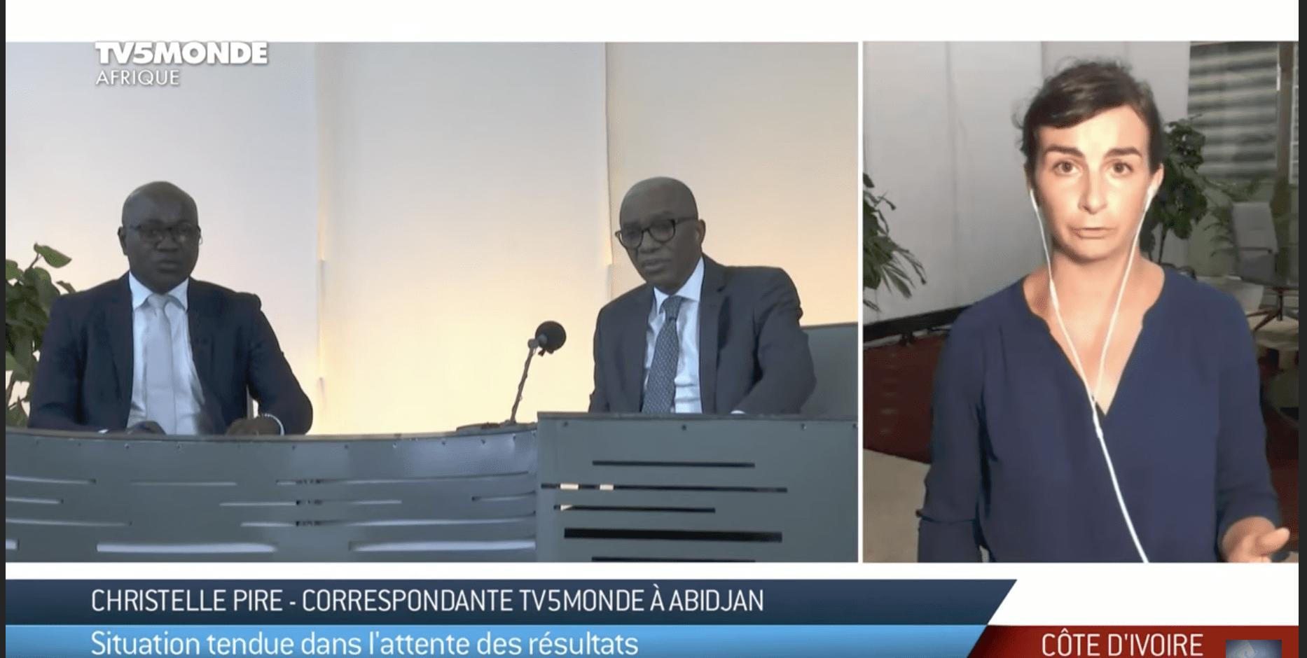 Présidentielle en Côte d'Ivoire : les premiers résultats tombent (video)