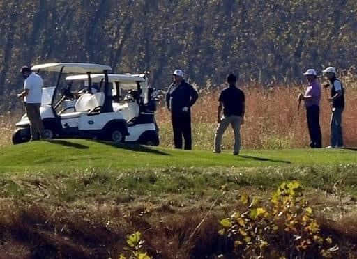 USA/Présidentielle 2020 : Trump jouait au golf lorsqu'il a appris sa défaite