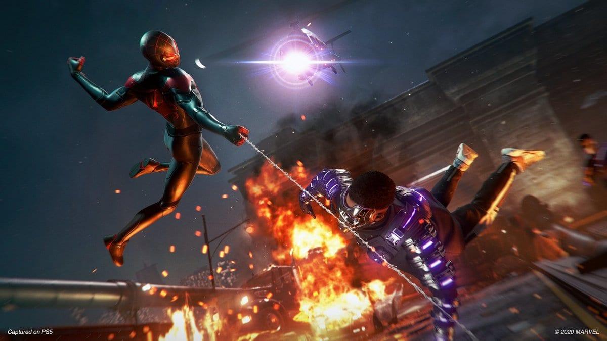 PS5 : Un bug «brique» littéralement Spider-Man Miles Morales, les vidéos