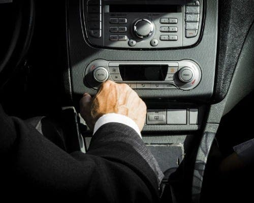 Chauffeur du Personnel