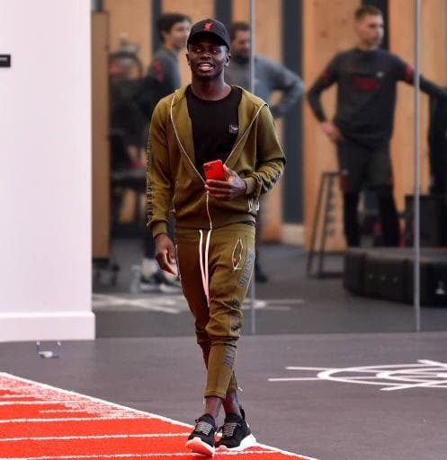 Sadio Mané en visite au nouveau centre de formation de Liverpool (Photos)