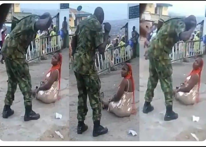 Nigéria : Un soldat bat une femme pour avoir porté des habits sexy