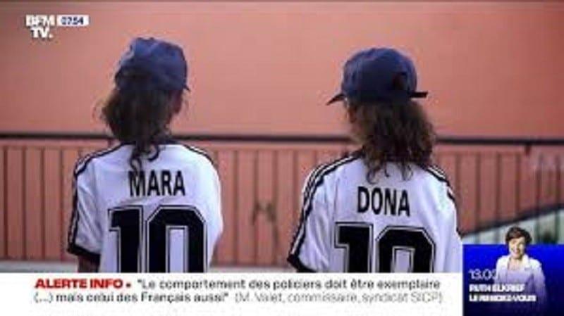 Argentine: un père surnomme ses jumeaux Mara et Dona