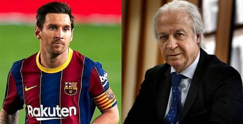 «Barcelone serait financièrement mieux sans Messi», le président par intérim tacle l'Argentin