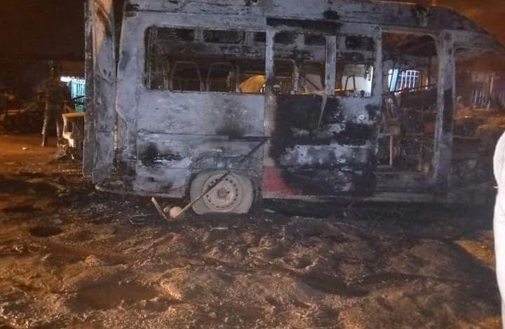 Côte d'Ivoire/ Plusieurs véhicules et un bus incendiés par des inconnus à Yopougon