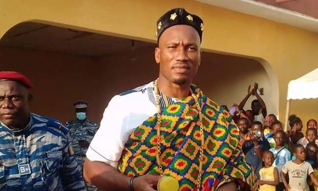 Côte d'Ivoire : Didier Drogba intronisé chef