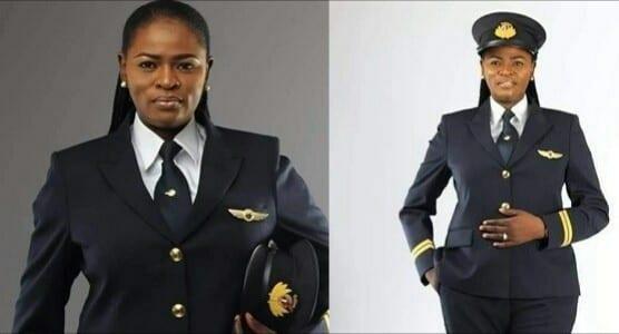 Découvrez la première femme nigériane pilote de Quatar Airways