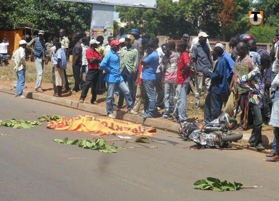Effroyable accident enregistré à Lomé