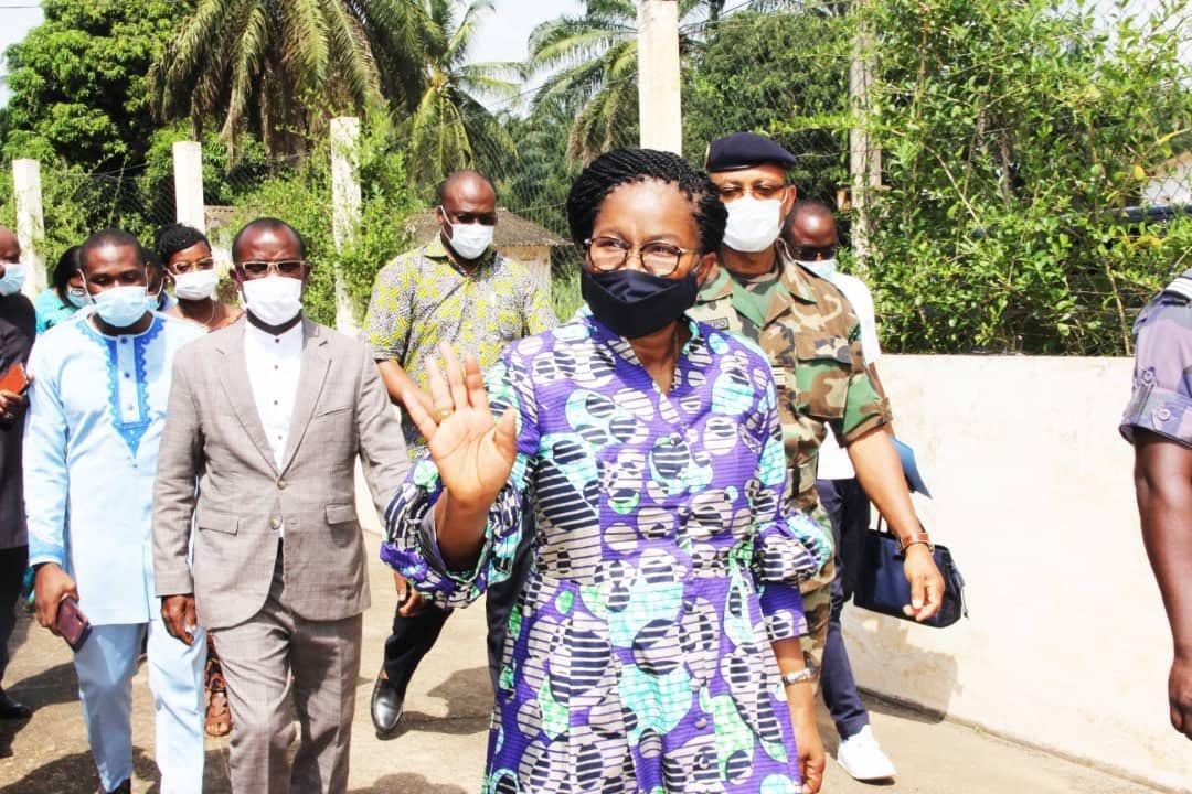Victoire Tomegah-Dogbé: «Soyez prudents et prenez soin de vous»