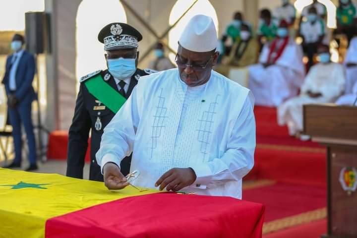 SENEGAL: Macky Sall a élevé Pape Diop ce vendredi.