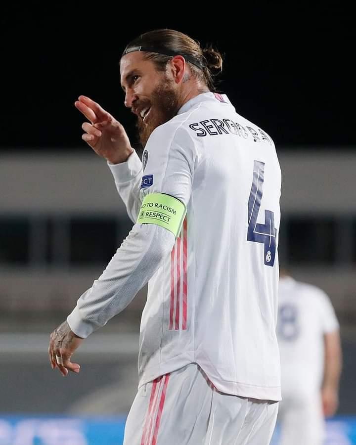Football: Sergio Ramos deuxième meilleur defenseur en 2020.