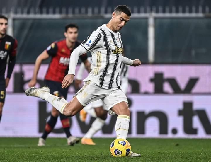Football-Italie: Un nouveau record pour la star portugaise, Cristiano Ronaldo.