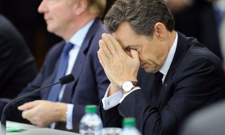 France/ Nicolas Sarkozy pleure lors de son procès
