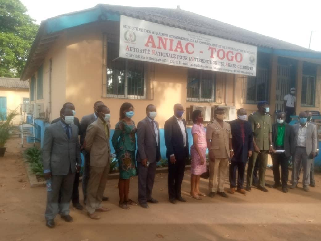 L'ANIAC-Togo va construire un centre de traitement de déchets chimiques