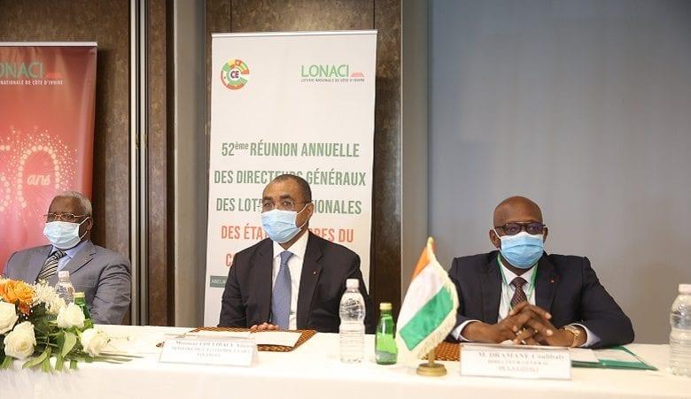 LONACI : ouverture de la 52ème Réunion des Directeurs Généraux en prélude au tirage de l'année 2021 (TCE)