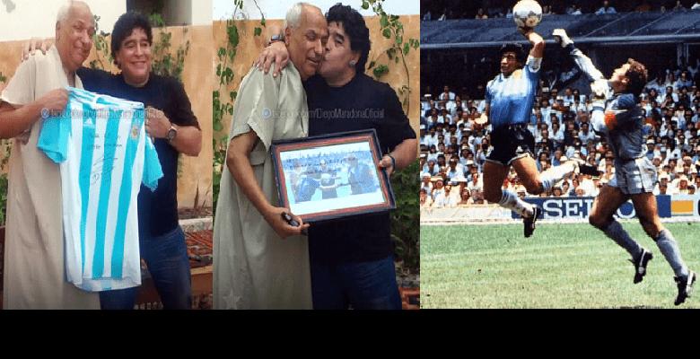 Le Tunisien qui a arbitré le match dans lequel Maradona a marqué le but de la « Main de Dieu » s'exprime enfin