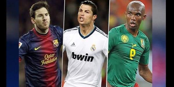 Le célèbre trophée gagné par Eto'o, Drogba et Ronaldo que Lionel Messi n'a pas encore soulevé