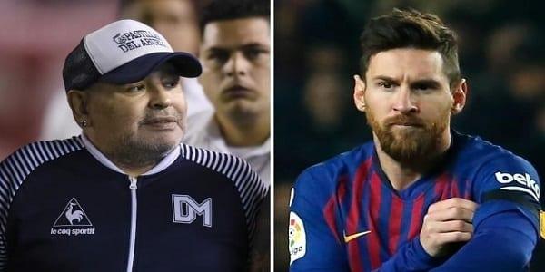 Lionel Messi reçoit un message fort après son hommage à Maradona !