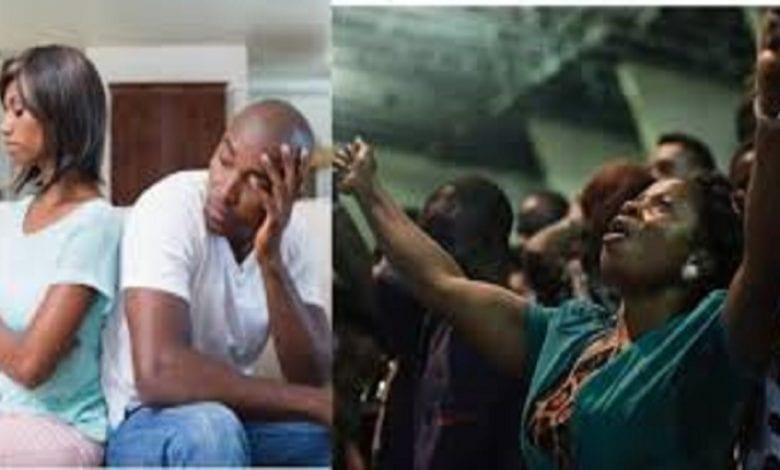 «Ma copine est accro à témoigner à l'église» se plaint un homme