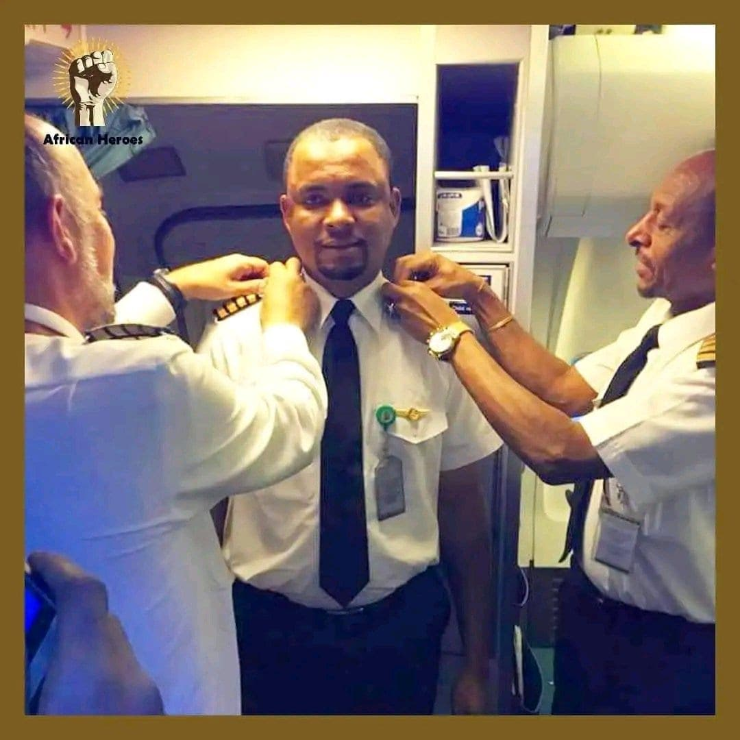 De nettoyeur d'avions, il devient pilote : L'histoire émouvante d'un jeune Nigerian