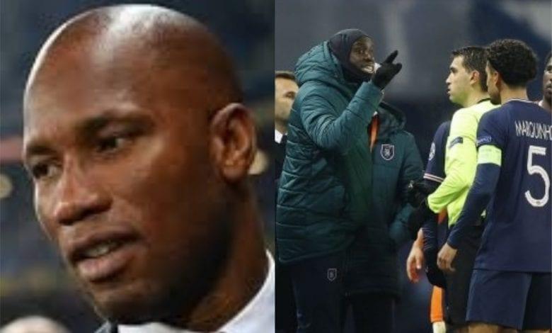 PSG – Istanbul BB: Didier Drogba remercie Demba Ba et Achille Webo