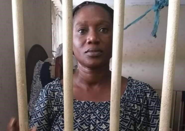 Pulcherie Gbalet célèbre son anniversaire en prison