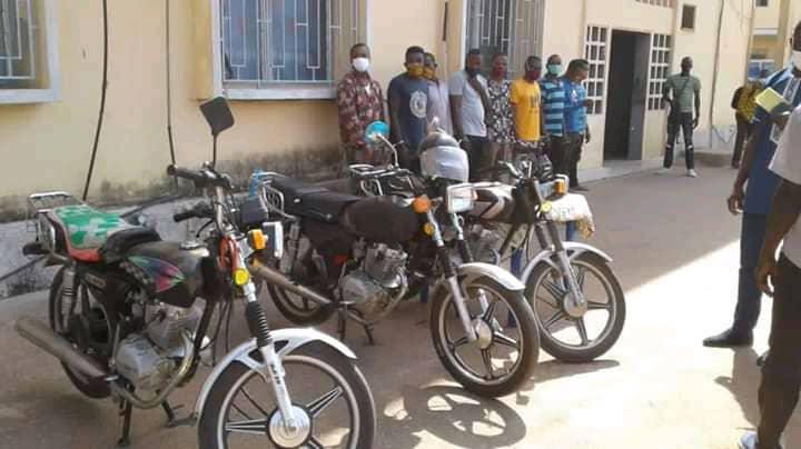 Togo : La police démantèle un gang de braqueurs nigérians