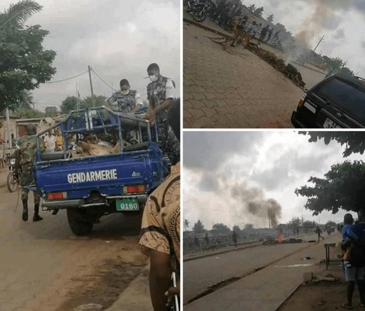 Togo : des animaux saisis par la police à Gbossimé