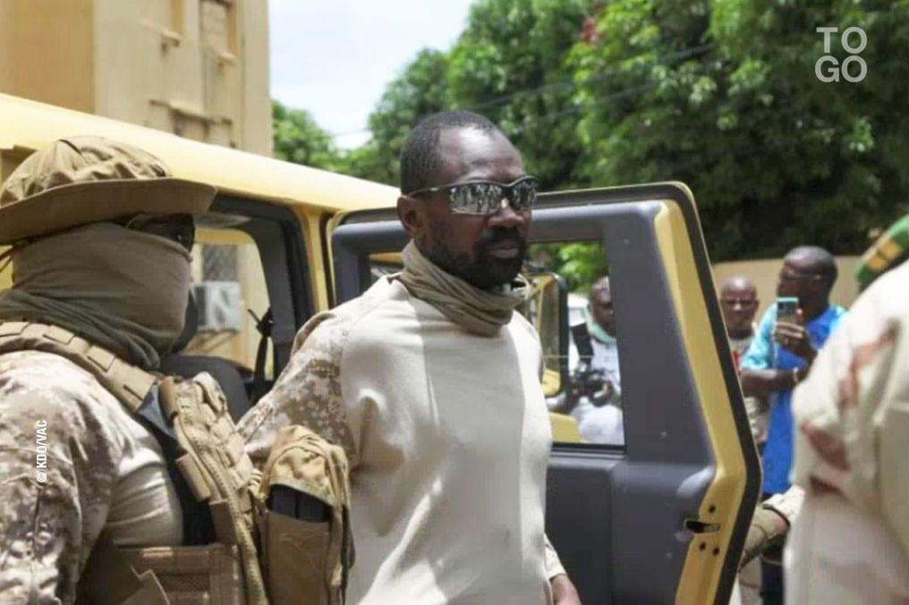Le putschiste Colonel Assimi Goita s'est rendu au Togo