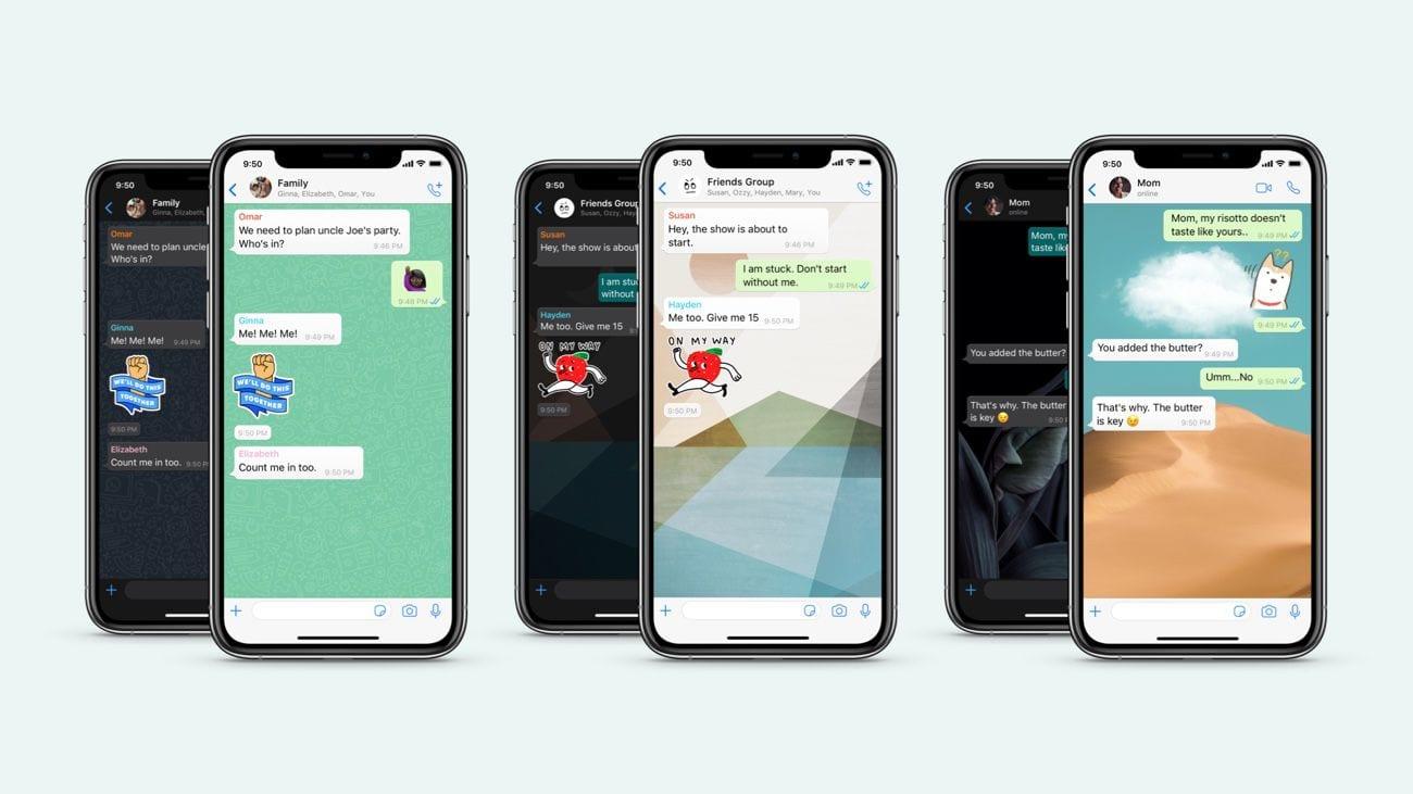 WhatsApp : il sera désormais possible de personnaliser le fond d'écran de chaque conversation