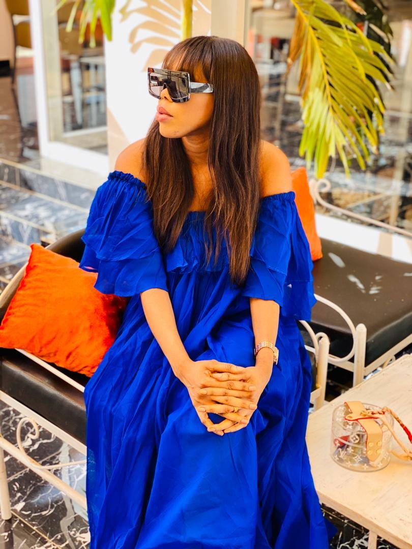 Princess Mame Awa Mbacké, la Fille de Serigne Abdou Karim en mode relax (Photos)