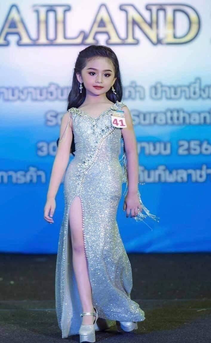 La petite fille «MiniUniverseThailand2019» créel'indignation