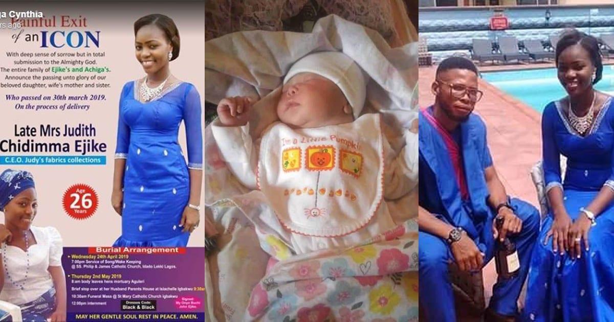 Nigeria :cette jeune fille meurt en donnant naissance à sonbébé