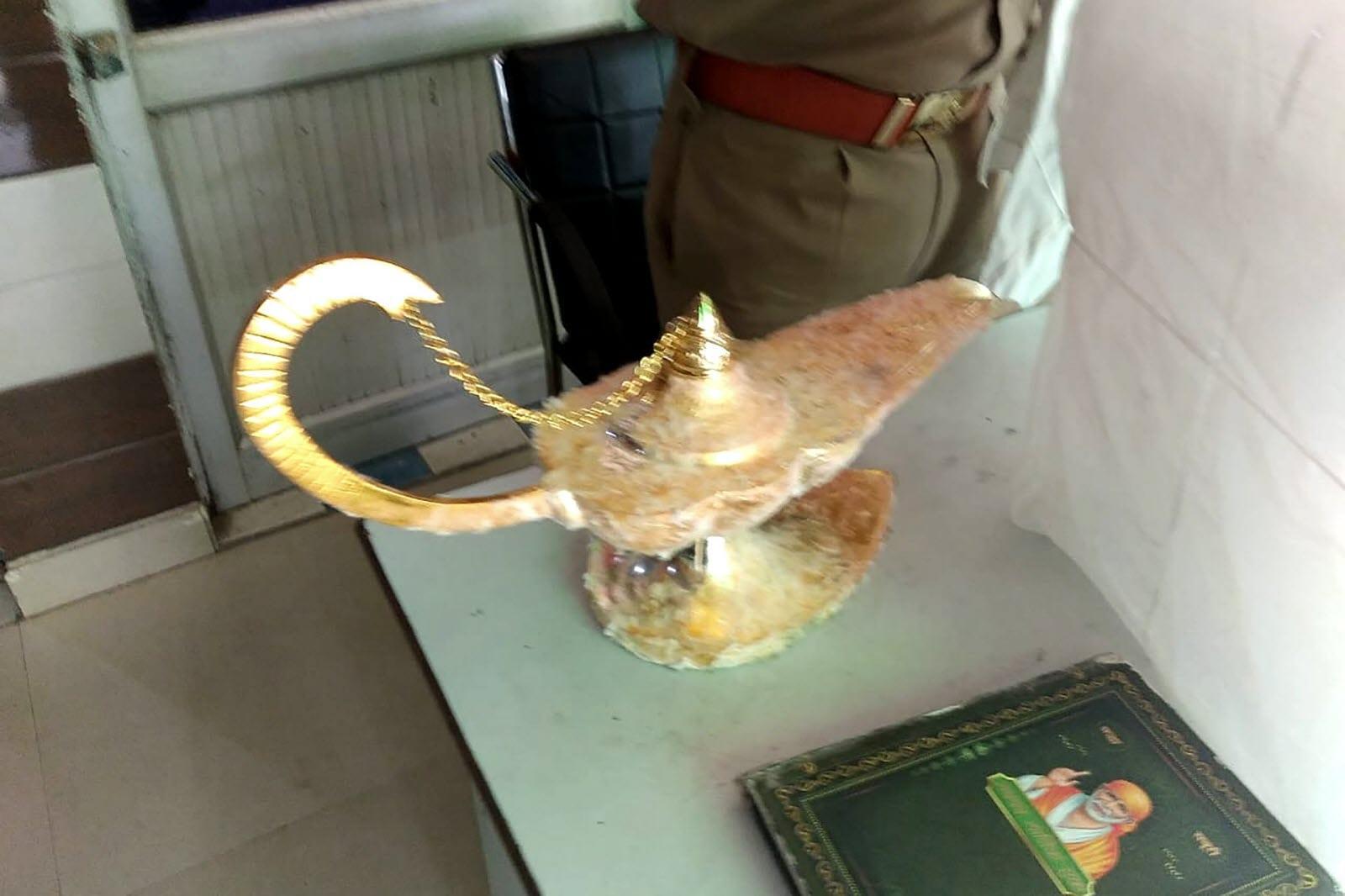Inde: un médecin achète une fausse ''lampe d'aladdin'' à 23 millions FCFA