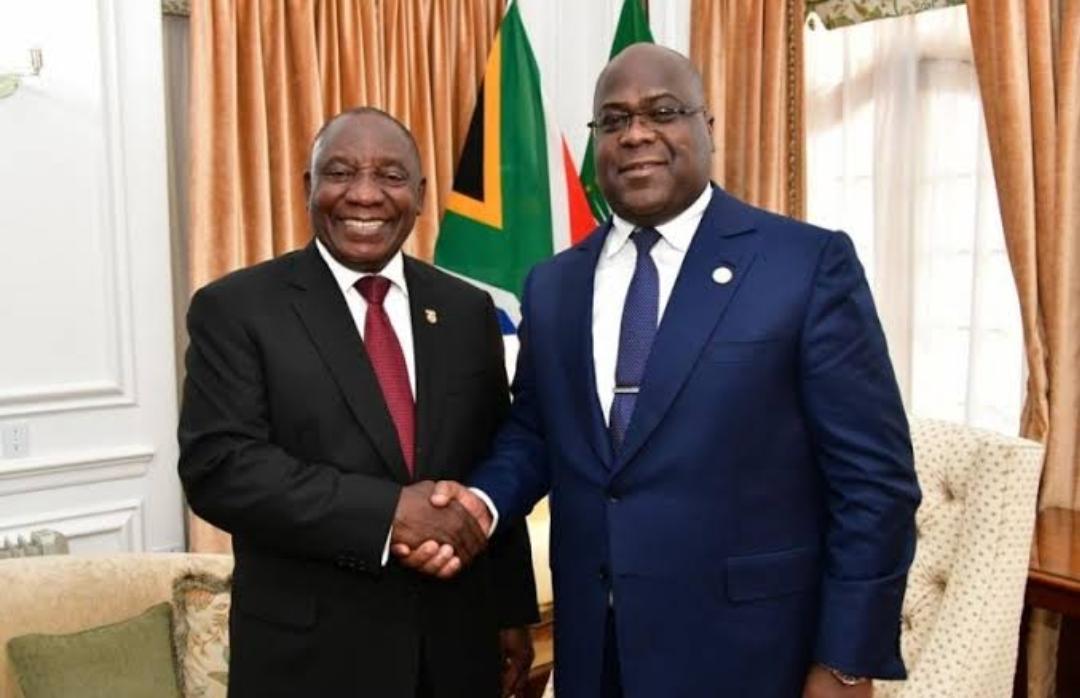 Voici pourquoi la rencontre entre Cyril Ramaphosa et Félix Tshisekedi est annulée