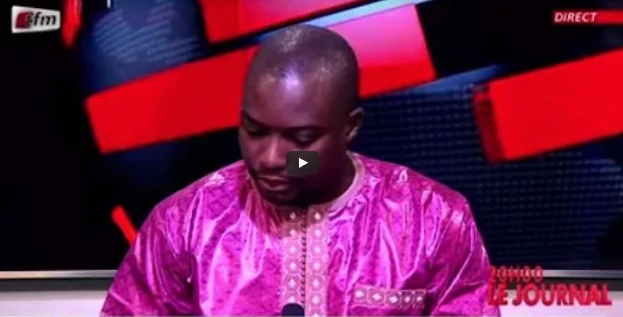 Décès Pape Bouba DIOP, le journaliste Chérif DIOP de la TFM craque en pleine présentation (Vidéo)