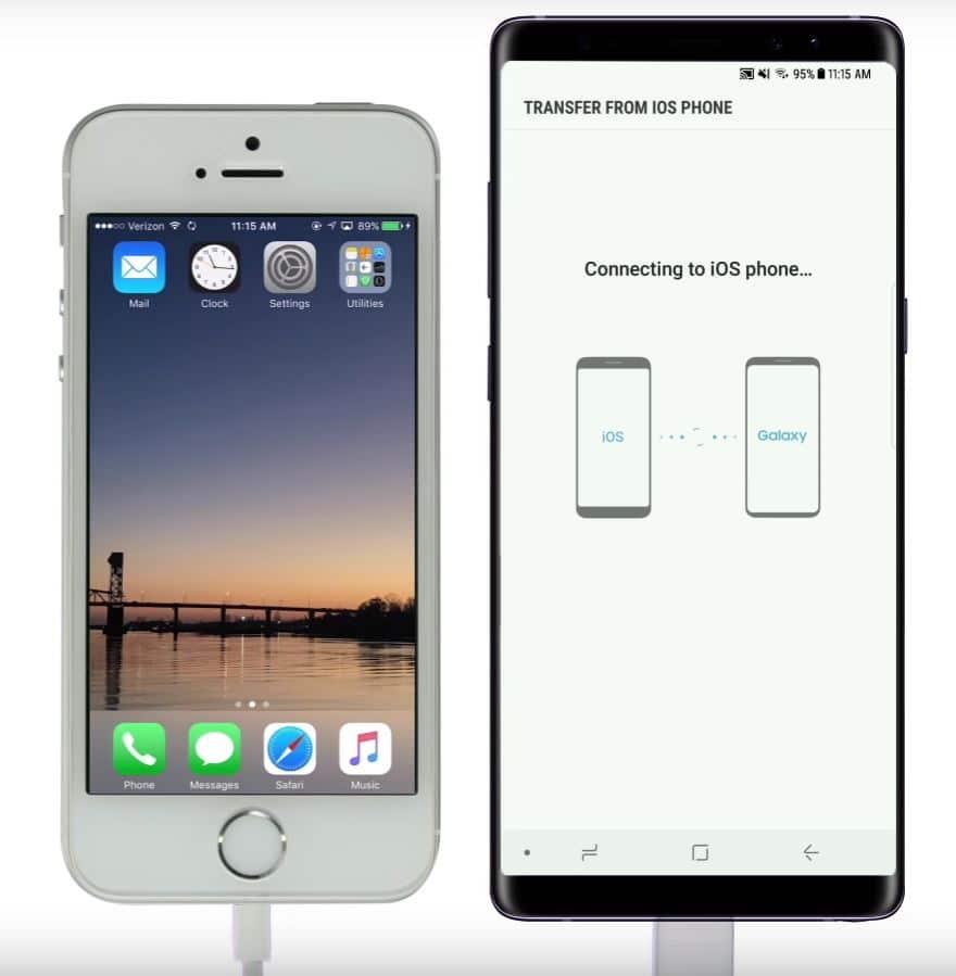 Comment transférer les données d'Android vers iOS ?