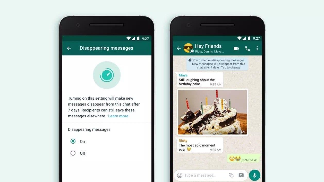 WhatsApp : comment envoyer des messages temporaires ?