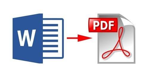 Comment convertir un fichier Word en PDF?