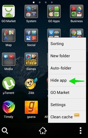 Voici comment masquer les photos et applications sur Android