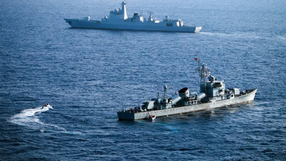 URGENT / En mer, la tension monte entre la Chine et les États-Unis