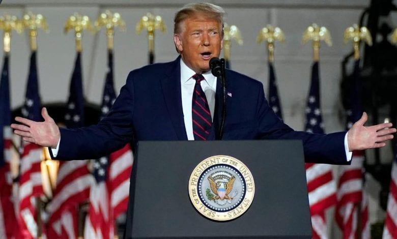 Poignant discours d'adieu de Donald Trump