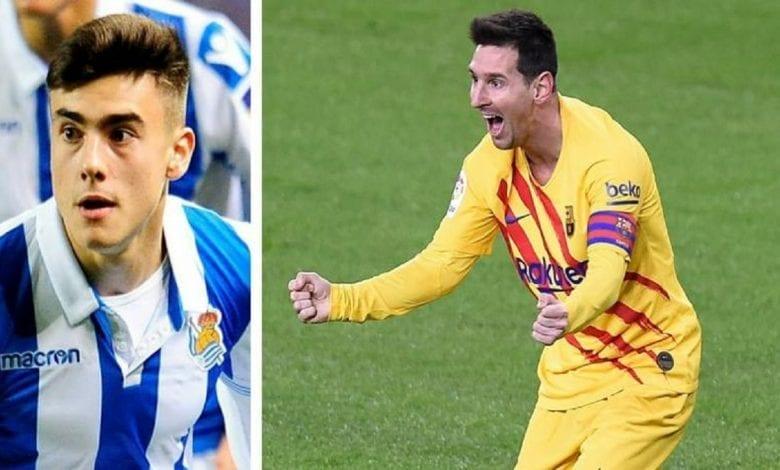 """Barrenetxea: """"Messi est le meilleur joueur de tous les temps"""""""