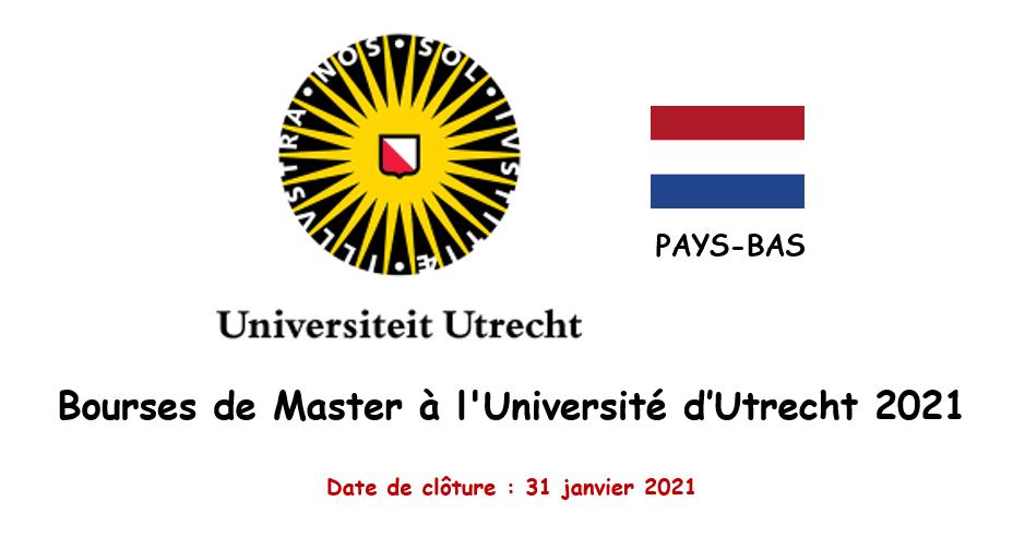Bourses d'excellence pour étudiants internationaux à l'Université d'Utrecht aux Pays-Bas