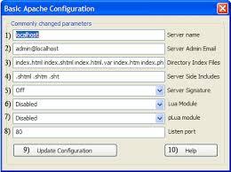 Configuration Apache proposé par 3Vision-Group