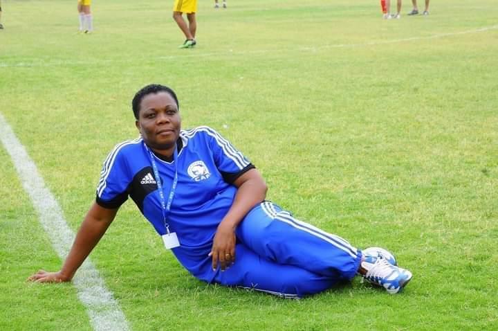 Élections à la CAF: La chef du département des arbitres de la FTF, Lawson-Hogban Latré-Kayi, candidate