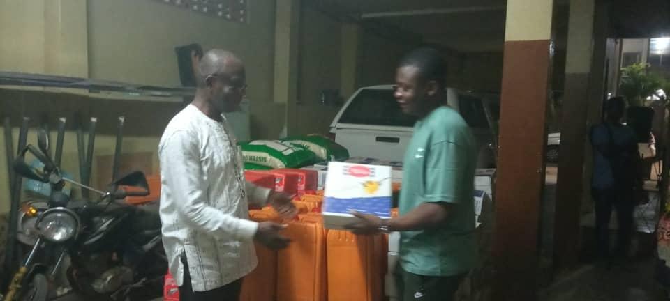 Togo : Ghislain Awaga appuie la commune du Golfe 2