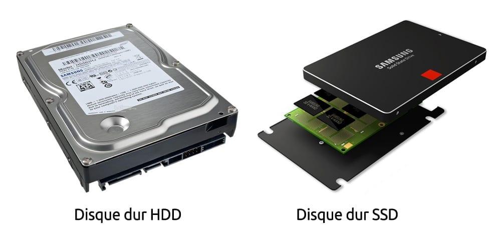 Quelle est la différence entre un disque dur SATA et SSD ?