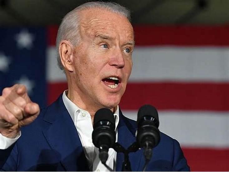 Joe Biden : «L'absence de Donald Trump à mon investiture est une bonne chose